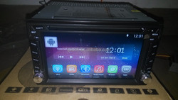6.2 inch android universal car dvd player Quad Core 2G + 16GB WS-6206
