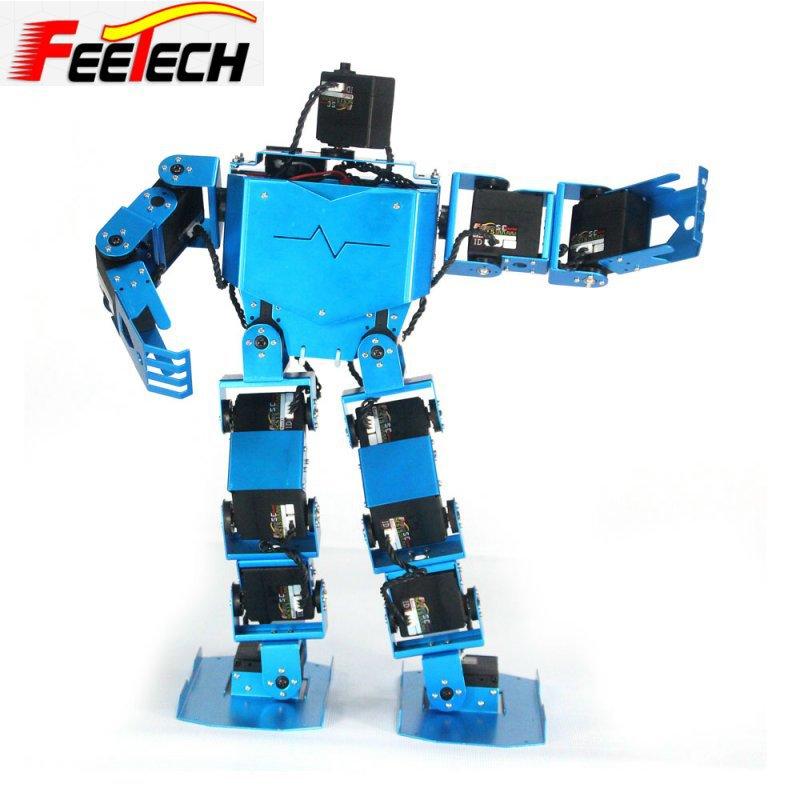 New dof modular robot humanoid arduino