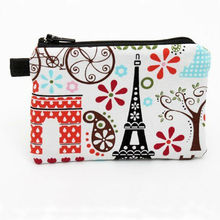 fashion fabric cheap coin purse