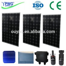 competitive price price per watt monocrystalline silicon solar panel 250w made in factory china