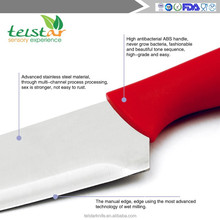 New design 5 pcs non-stick coating bread knife set free sample knife