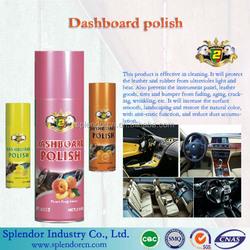 Dashboard polish/ dashboard spray polish form china
