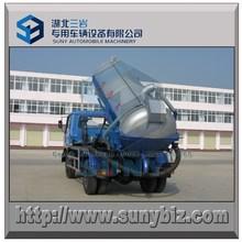 Dongfeng 4 x 2 caminhão tanque de vácuo de sucção de esgoto de 6 metros cúbicos