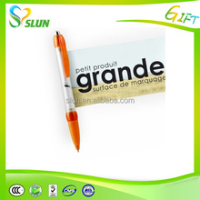 Customized logo pen retractable promotional pens