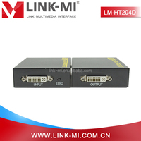LM-HT204D 60m DVI-D Digital Signal DVI to UTP Extender TX + RX Over Cat6 Support 3D With No loss of Quality