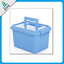 wholesale China supplier plastic container with lid handle