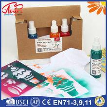 HOTSALE! ECO, Fabric spray paint. 100ml x 6colors