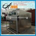 Aire caliente circulante para secador de frutas industriales de acero inoxidable