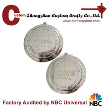 Engraved factory direct price gold medal