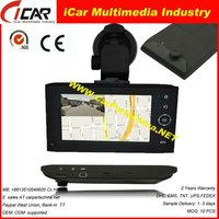 """HOT!!!recording while navigation 4.3"""" Touch Screen X6 gps maps Dvr for windows ce6.0"""
