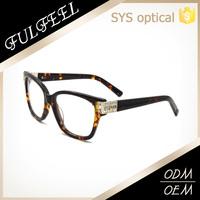 Best Selling 2015 Fashion Hand Made Acetate Eyewear Optical Frame For Girls