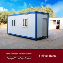 low cost economical shipping 20ft prefabricated container house plans