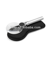 Material de aluminio de la joyería grande de funciones decorativo lupa M03-57