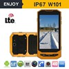 IP67 quad core rugged android waterproof and dustproof mobile phone with walkie talkie