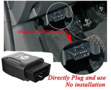 Anti-theft Very Small Tracker Gps Obd2 Tracker GPS Tracker TK206 3G Communication