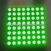 5mm green led dot matrix display module 8x8