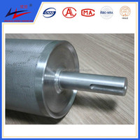 stainless steel embossing roller for leather machine