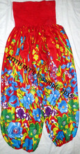 RAYON PRINTED TROUSERS