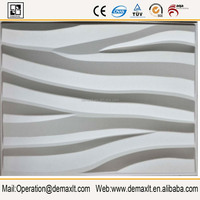 Unique 3D Art Background Wall Panel Resin Wall Covering