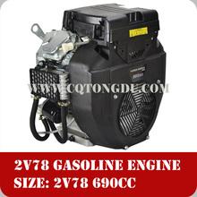 TD2V78F gssoline engine 20HP V-twin cylinder/4-stroke/air-cooled/gasoline engine