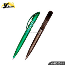 New style plastic ball pen colored barrel YHB2020-1