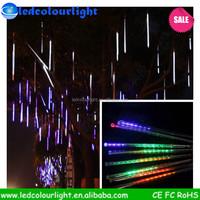 Holiday Sale Meteor Shower Rain Tubes LED Light For Festival Wedding Garden Decoration Lighting 500*30cm