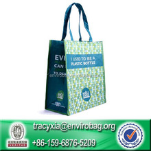 Wipe-clean 100% rpet eco friendly biodegradable disposable bags