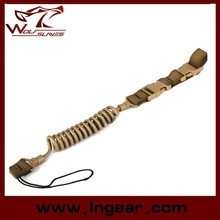 Tactical Elastic Force Gun Sling Belt For Pistol Sling Safety Rope