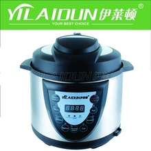 High Efficiency Multifunction Stainless Steel Electric Pressure Cooker For Cooking ,Steaming ,Braising