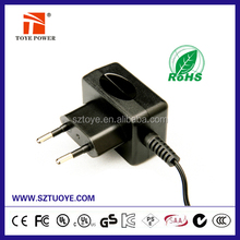 15V 100ma ac dc adapter with UL CE SAA GS approval