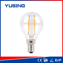 2015 hot 200lm e14/e27 A45 filament LED bulb LED bulb 2w application requirement guide