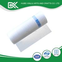 Useful waterproof white beautiful design plastic shopping bag