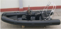 China 420 rib hypalon 8 person pvc inflatable boat for sale