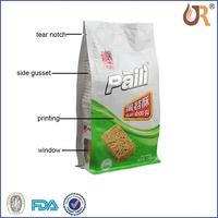 custom design opp pocket sleeve/packing plastic bag/opp polybag sealingbag with headcard