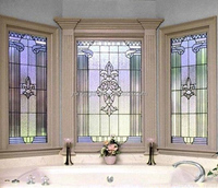 cathedral decorative door glass inserts houston