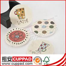 animals blank ceramic coaster with cork bottom