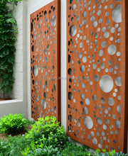 A588 corten steel for Decorative Privacy Metal Screens