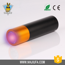 JF AAA Battery Colorful Promotional UV light,Aluminum Mini 1W UV Flashlight Torch,UV Lamp for Money Check