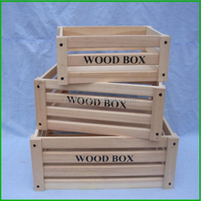 Home Decorative Wood Eggs Crates For Sale