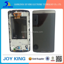 black and white hot sale with factory price China mobile phone repair parts lcd display for lg g3