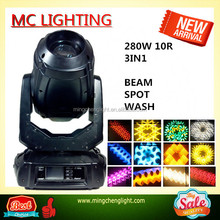 Wholesale super ROBIN Pointe 10R 280W Sharpy Beam Spot Wash 3in1 Moving Head Light Stage Light