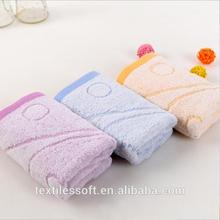 stocklot terry 100% cotton jacquard face towel