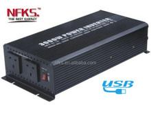 Alibaba China Manufacture 3000W 12V/24V/220V hybrid solar inverter
