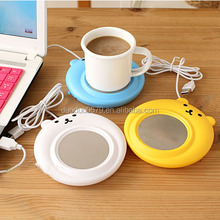 Y034 Promotional coffee cup pad USB hot pan coaster
