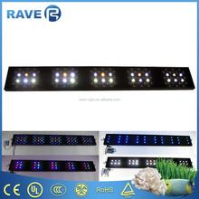 red/blue/uv/green/white color emitting led aquarium light with programming system