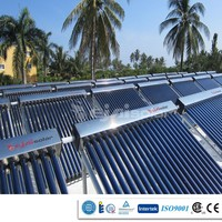 Europe market vacuum tube project solar collector for hot water supply/swimming pool heating/house heating