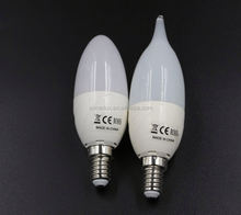CE ROHS 13w candle 3 volt led light bulbs for office lighting