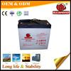 12V 55Ah rechargeable sealed lead acid gel battery