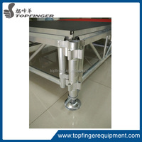 Outdoor event folding aluminum concert stages portable performance stages