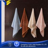 hotel high quality 100% bamboo fiber towel cotton hospital bath